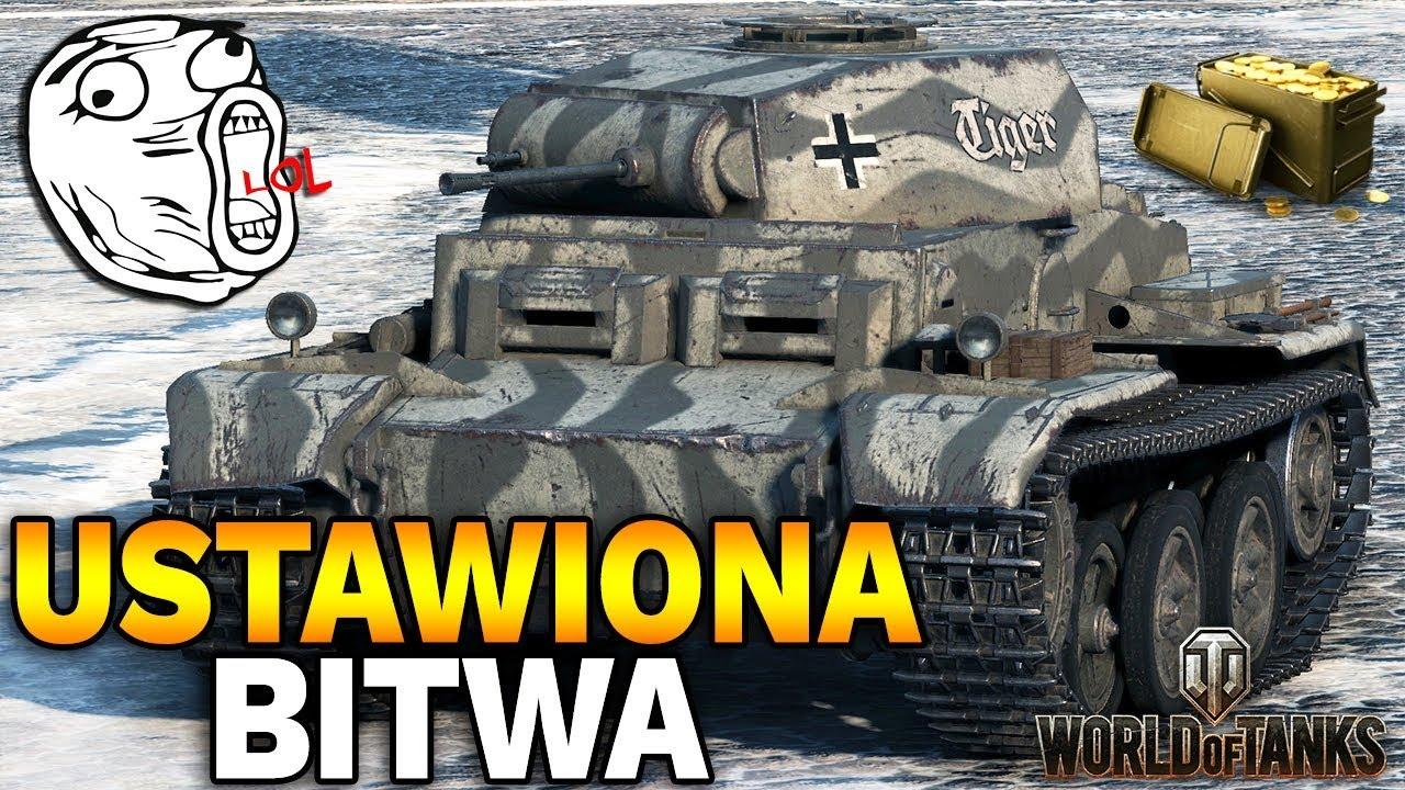 USTAWIONA BITWA !!! – PZ II J za 400 ZŁ – World of Tanks