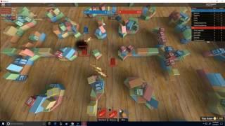 Playing Tiny Tanks - Roblox