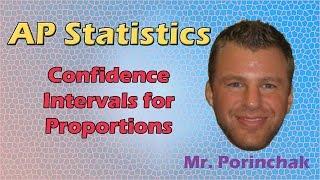 Oranlar için AP İstatistik: Güven Aralıkları