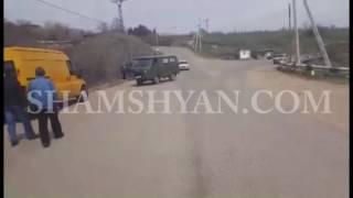 Տավուշի մարզում բախվել են գյուղապետարանի УАЗ ն ու «01» ը  վերջինը հայտնվել է ձորակում