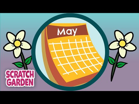The Months of the Year Song | Scratch Garden