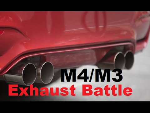 Bmw M3 M4 F80 F82 Aftermarket Exhaust Comparison Youtube