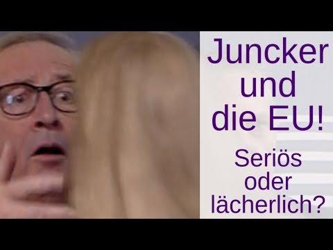 Juncker und die EU: Seriös und demokratisch? Oder lächerlich und lügnerisch?