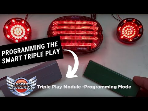 How To Program the SMART Triple Play® Run, Brake, Turn Module from Custom Dynamics®