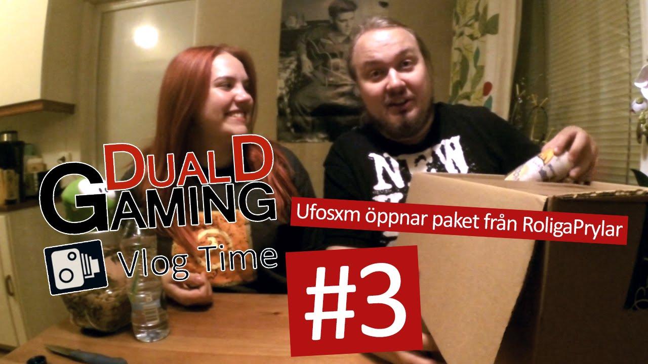 9c0b1c9a773b Ufosxm Öppnar Paket Från RoligaPrylar.se - YouTube