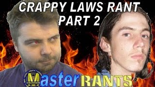 MasterRants | Episode 23 | Crappy Laws Rant Part 2 (Richard Huckle/Huckool)