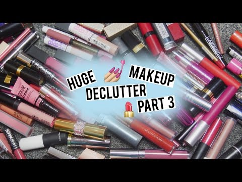 Spring Makeup Declutter Part 3: Lips | Behind The Scent