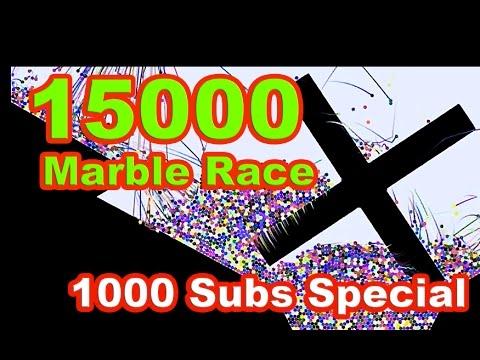 3000 Marble Race 28 Teams 1 Winner Extreme Funnycat Tv