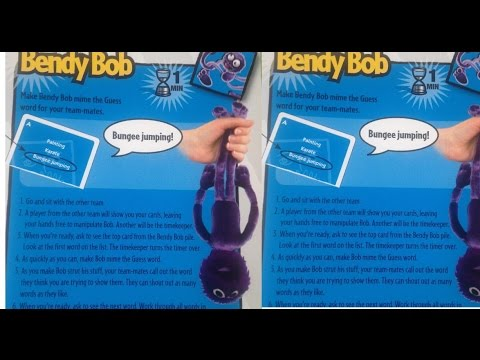 Bendy Bob The Big Taboo Board Game Rules Instructions How To Play