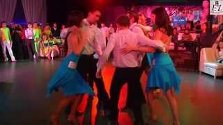 Fiesta-Rueda 2013 в Уфе. Baila Latina, 2 состав, г.Стерлитамак. Организатор- Студия танцев Esperanza
