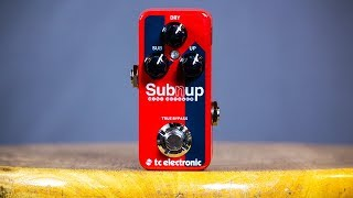 TC Electronic Sub 'N' Up Mini Octaver (Sub N Up) - Ambient Guitar Gear Review