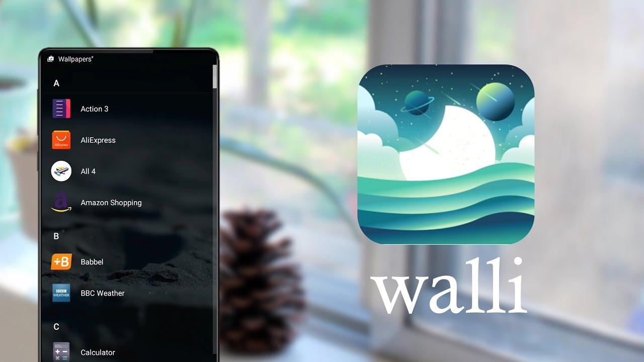 Walli - Wallpaper application |  Top Best Apps - YouTube