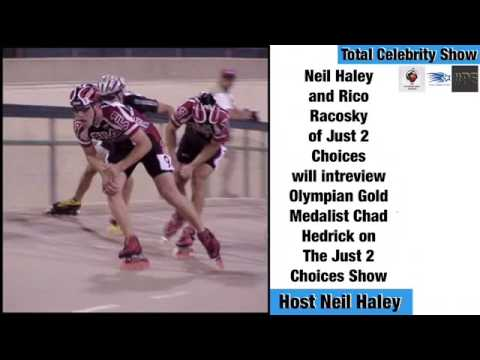 Neil Haley & Rico Racosky wOlympian Gold Medalist Chad Hedrick on The Just2Choices Show
