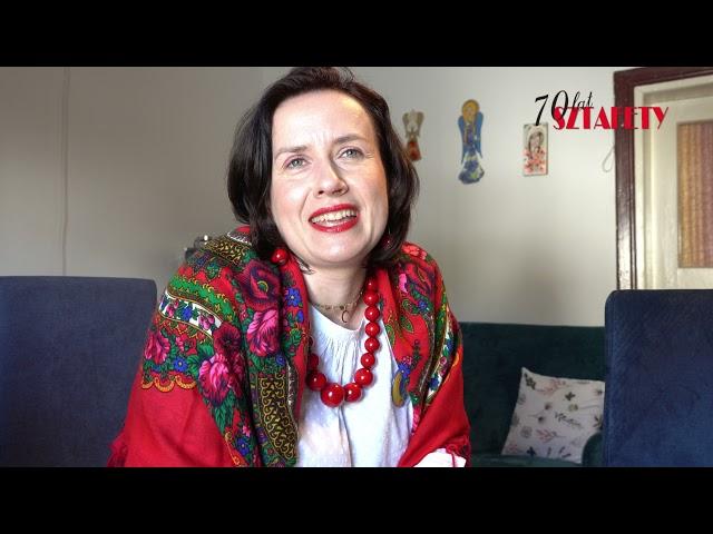 """70 lat """"Sztafety"""" - Anna Cielepak"""