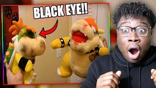 BOWSER JR. GETS BEATEN UP! | SML Movie: 2 Tickets Reaction!