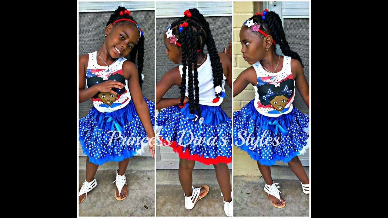 Princess Diva: 4th Of July Hai...