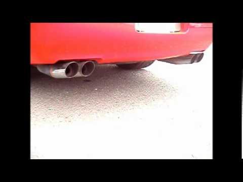corvette c4 exhaust kbd obx youtube