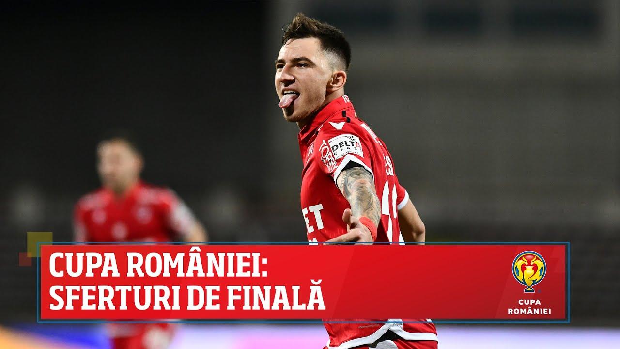 Cupa României: sferturi de finală