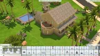 The Sims 4 Gameplay/build Mode: Blue Fox's Family House + Gazebo