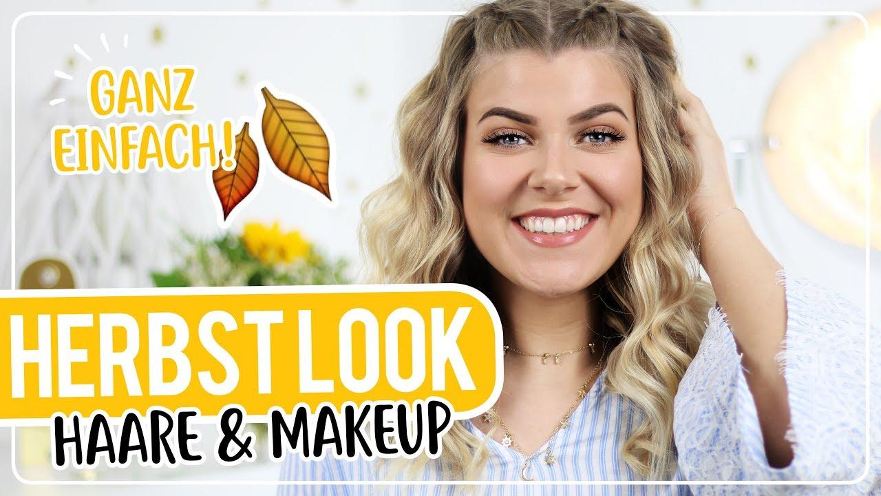 herbst makeup und haare fà r anfà nger ð ð ð coco youtube