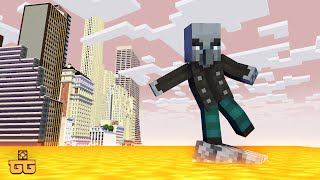 Monster School : FLOOR IS LAVA Challenge 3  - Minecraft Animation