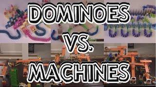 Dominoes vs. Machines: Round III (w/ Flash Domino)