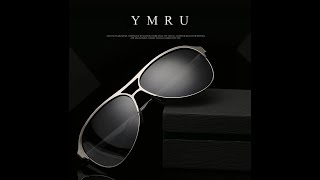 YMRU sunglasses unboxing and review