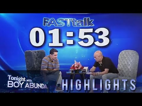 TWBA: Fast Talk with Carlo Aquino