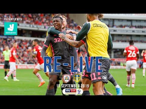 RE-LIVE | Barnsley 0-2 Leeds United | EFL Championship | 15 September 2019