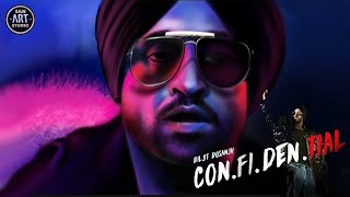 DILJIT DOSANJH | confidential | high end | Digital Painting