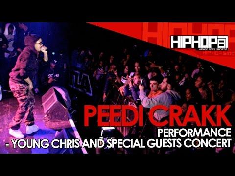 Peedi Crakk Performs