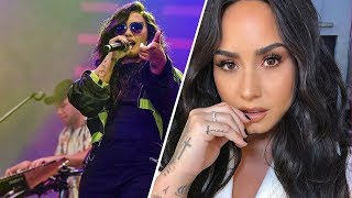 Demi Lovato Proclaims She's 'Free' After Sobriety Relapse With New Tattoo