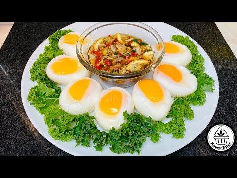 เทคนิคต้มไข่ตาหวาน ไข่ตาเดียว ไข่ยางมะตูม ไข่ต้มตาลอย EP.470/How to boil an Eggs!/แขมร อินเตอร์