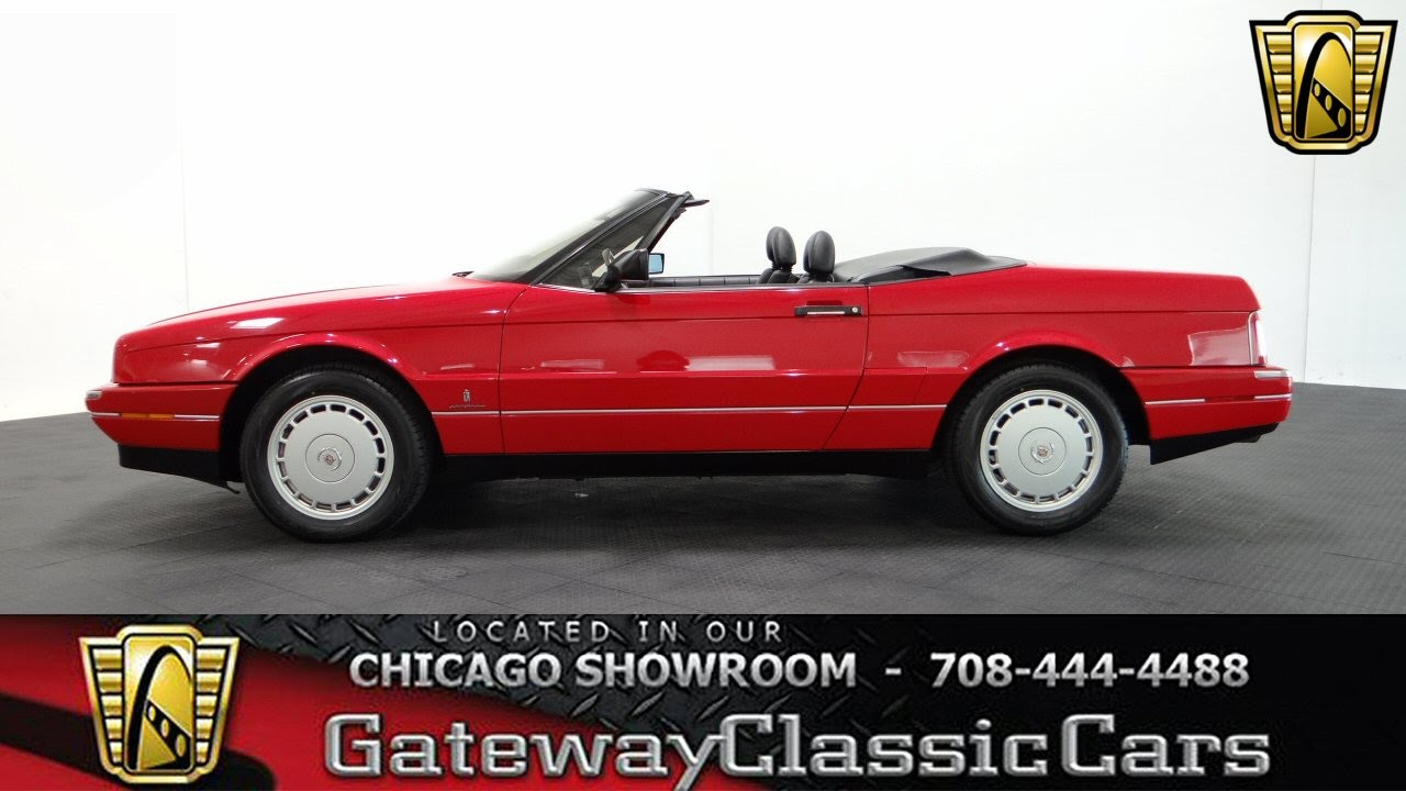 1992 cadillac allante gateway classic cars chicago 981 youtube rh youtube com 1987 Cadillac Allante Review 1991 Cadillac Allante Specifications