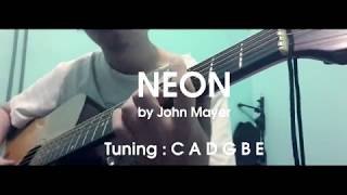 can we play neon by john mayer in standard tuning?