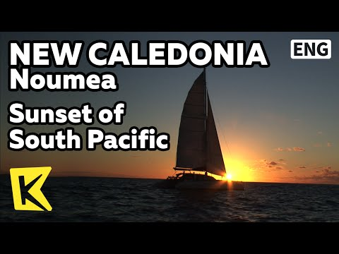 【K】New Caledonia Travel-Noumea[뉴칼레도니아 여행-누메아]남태평양의 석양/South Pacific/Sunset/Night view/Sea