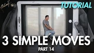 3 Simple Dance Moves for Beginners - Part 14 (Hip Hop Dance Moves Tutorial) | Mihran Kirakosian