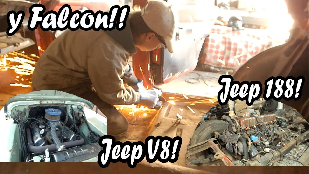 JEEP X2 / CORTANDO PISOS Ford Falcon! - Oiled Team