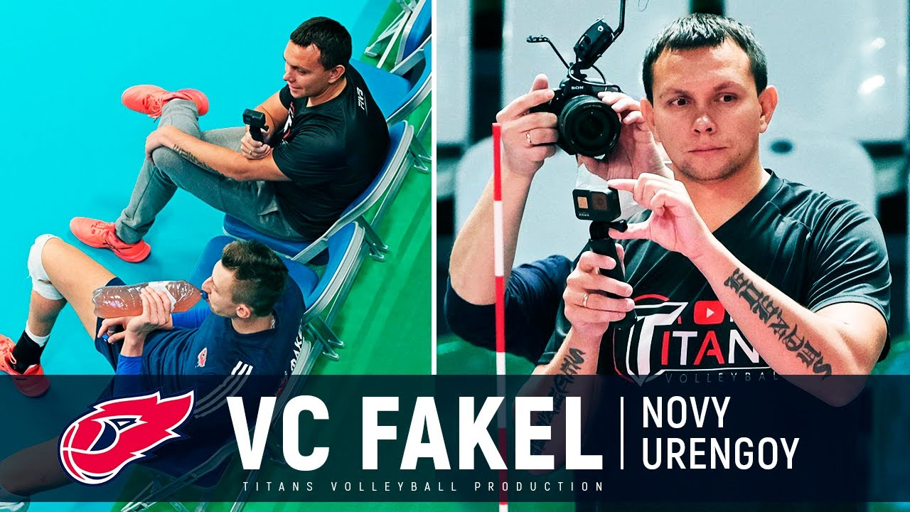 Titans Volleyball visiting the VC Fakel | World Champions, Crazy Warm Up, Highlights | VLOG
