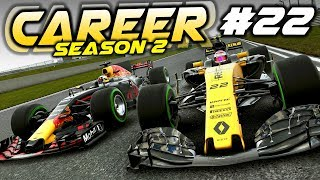F1 2017 Career Mode Part 22: ISSUES FOR RED BULL AT CHINA!