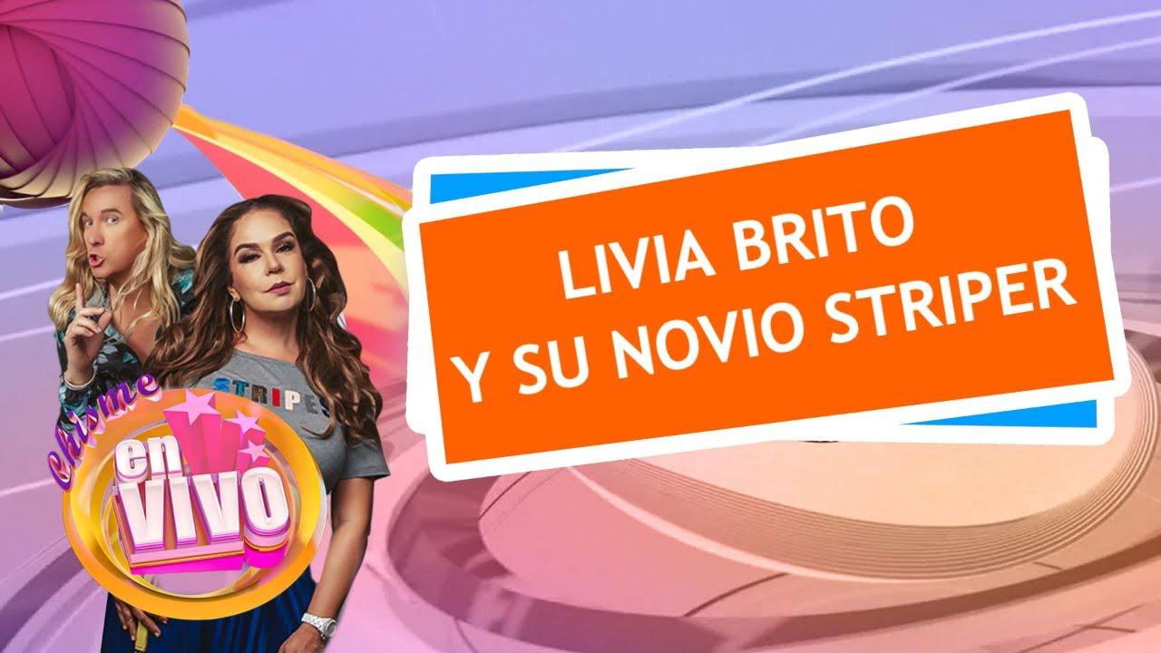 LIVIA BRITO con novio encuerado y siguen rodando cabezas en Telemundo   Chisme En Vivo