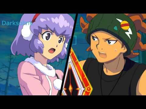 Inazuma Eleven Go Vs Danball Senki W LBX Vs Killer Droid HD