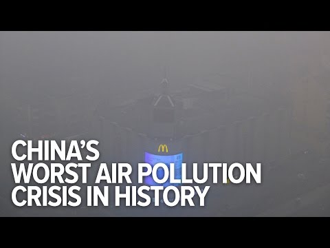 China's pollution crisis kills 4,400 people a day