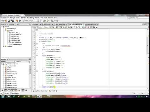 Membuat Aplikasi Mahasiswa Dengan Java