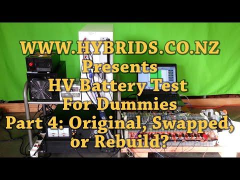 Prius Battery Modules Manufacture Date Scan: Original, Swapped or Rebuild?
