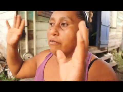 NEMO Minister Castro   Cayo North Rep and San Ignacio Mayor Assess Impact of Flash Flood