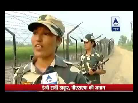 Indian Army Women officer talking about Pakistan Army || Brave Army ranjers