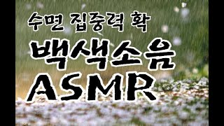 백색소음,ASMR,수면,빗소리,수면의학회추천, 이명귀울…