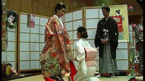 Kimono de Mariage Japon