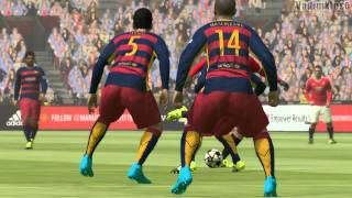 Pro Evolution Soccer 2016 PC GamePlay HD